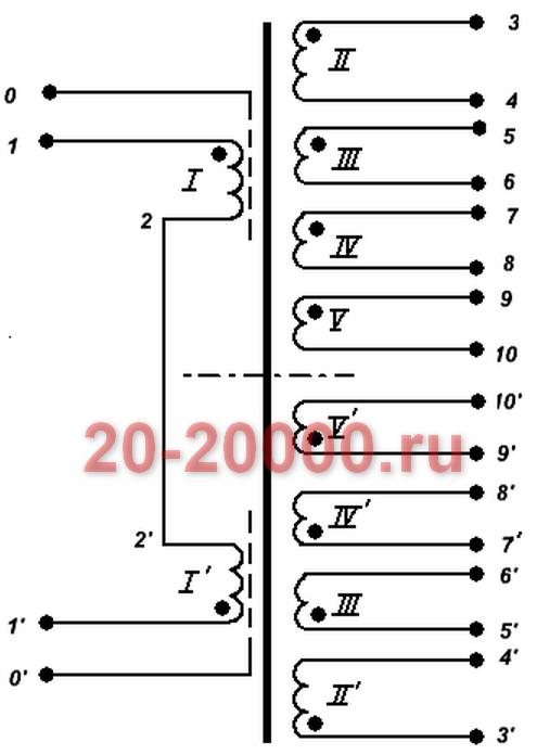 Трансформатор ТС-160-2