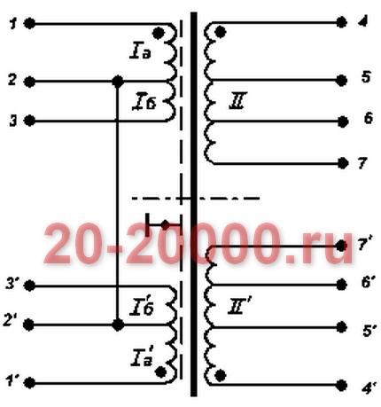 Трансформатор ТС-160-3