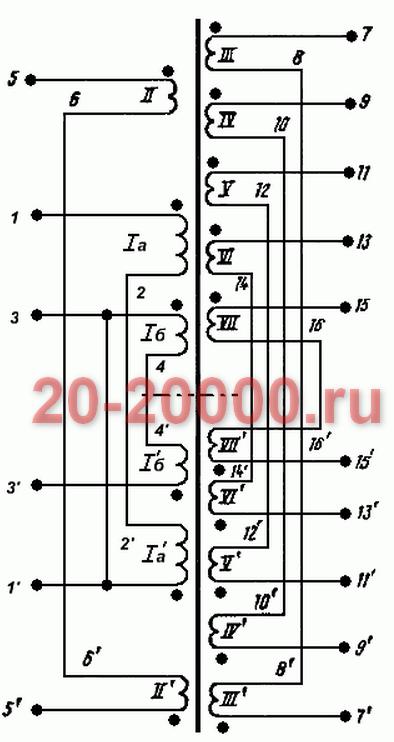 Трансформатор ТС-180-3